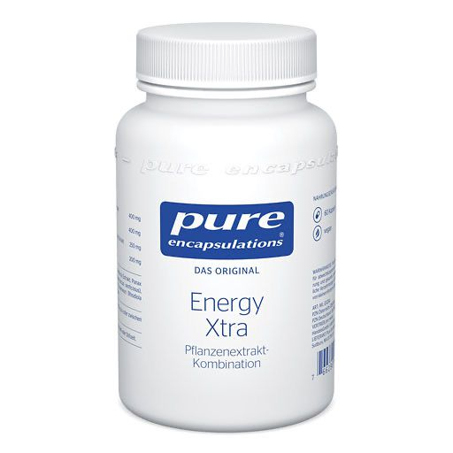 PURE ENCAPSULATIONS Energy Xtra Kapseln