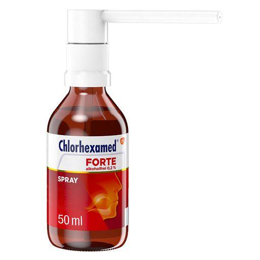 chlorhexamed forte alkoholfrei 0 2 spray 50 ml aphthen. Black Bedroom Furniture Sets. Home Design Ideas