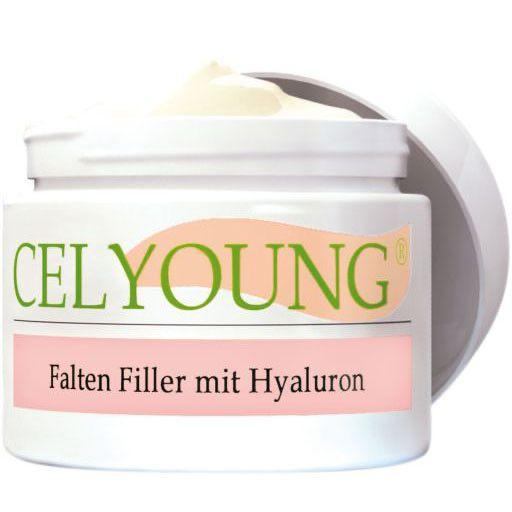 CELYOUNG Falten Filler m.Hyaluron Creme 50 ml..