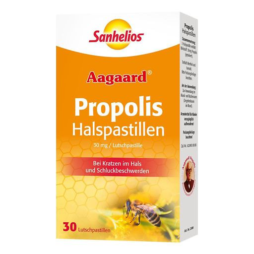 propolis halspastillen 30 st halsschmerzen heiserkeit erk ltung immunsystem. Black Bedroom Furniture Sets. Home Design Ideas