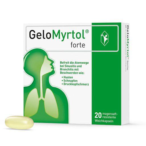GELOMYRTOL forte magensaftresistente Weichkapseln 20 St