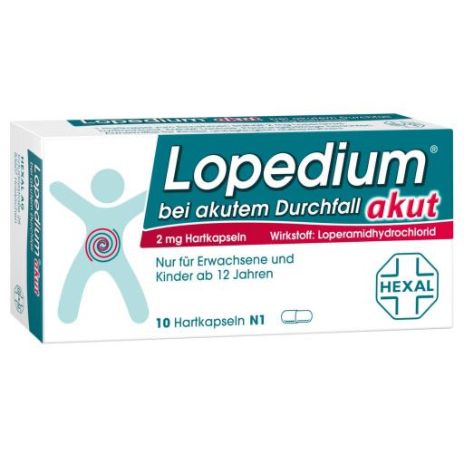 Lopedium Akut Bei Akutem Durchfall Hartkapseln 10 St Reise Sonne
