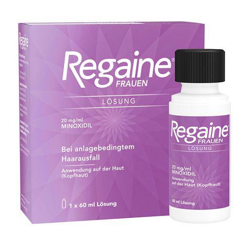 Nebenwirkungen Regaine Frauen
