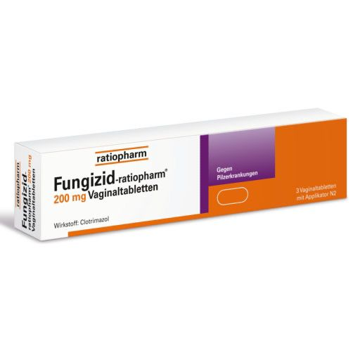 FUNGIZID-ratiopharm 200 mg Vaginaltabletten