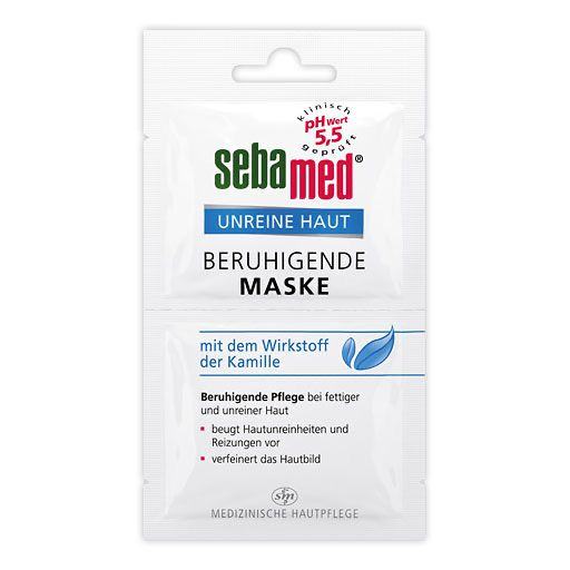 SEBAMED Unreine Haut beruhigende Maske 2X5 ml - Deine