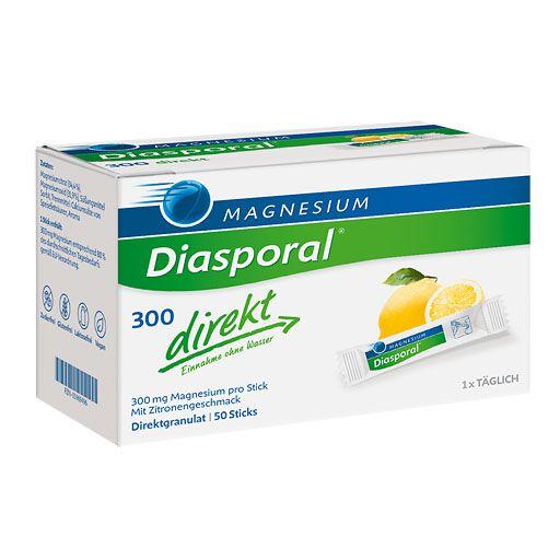 magnesium diasporal 300 direkt granulat 50 st muskel. Black Bedroom Furniture Sets. Home Design Ideas