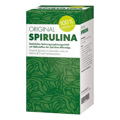 ORIGINAL SPIRULINA Tabletten