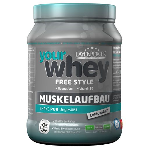 LAYENBERGER YourWhey Molkenprot.4 Sport pur