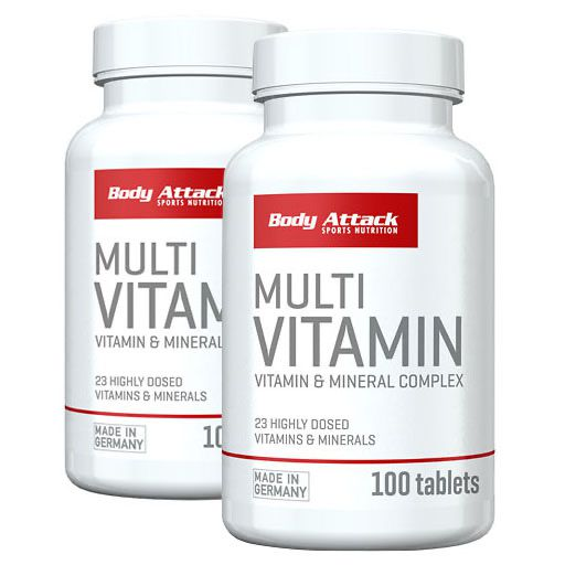 MULTIVITAMIN Tabletten Doppelpack (2x100)
