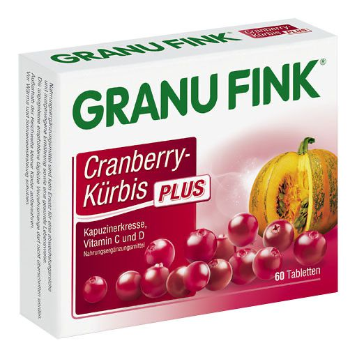 GRANU FINK Cranberry-Kürbis PLUS Tabletten