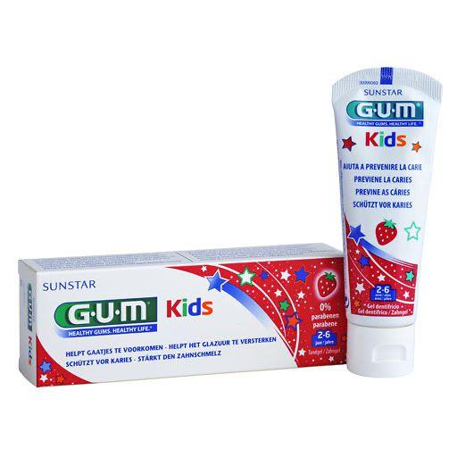 gum kids zahncreme erdbeere 2 6 jahre 1 st zahnpasta. Black Bedroom Furniture Sets. Home Design Ideas