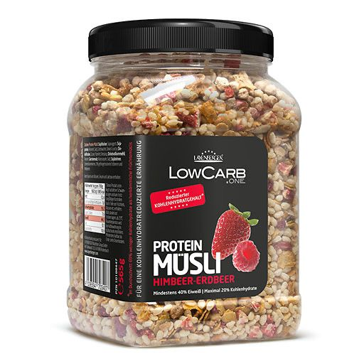 LAYENBERGER LowCarb.one Müsli Himbeer-Erdbeer