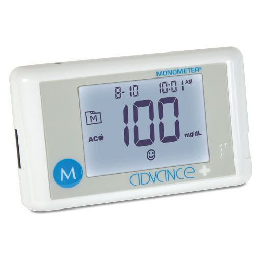 ADVANCE Plus Monometer Blutz.Mes.Starterset mg/dl