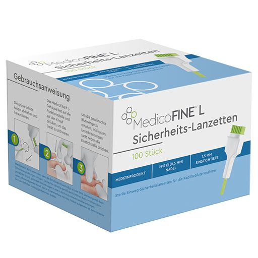 MEDICOFINE Lanzetten 29 G 0,5x1,5 mm