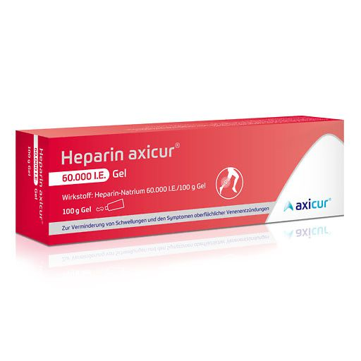 HEPARIN AXICUR 60.000 I.E. Gel