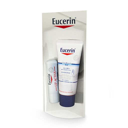 EUCERIN UreaRepair PLUS Handcreme+Lip Active Set
