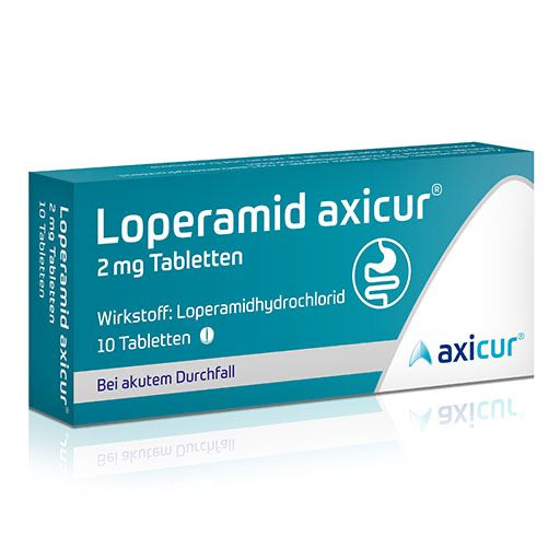 LOPERAMID axicur 2 mg Tabletten