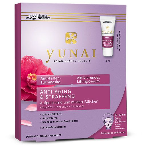 Yunai Anti Falten Maske 25gaktivlifting Ser4ml 1 P Serum