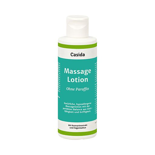 MASSAGE LOTION natural ohne Paraffin