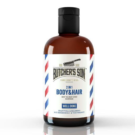 BUTCHERS Son 2in1 Body & Hair Shampoo well done