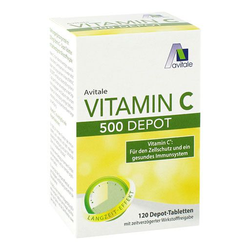 VITAMIN C 500 mg Depot Tabletten